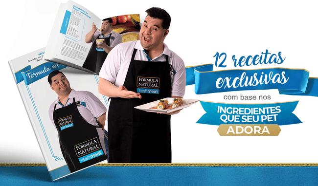 Conheça o e-Book de receitas da Fórmula Natural Fresh Meat.