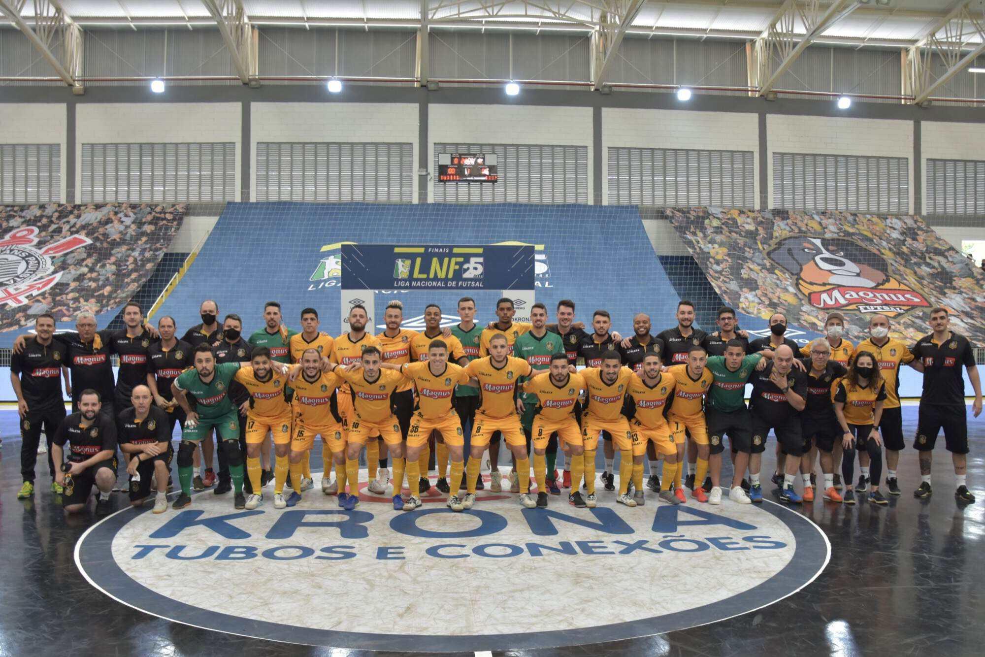 Magnus Futsal, Corinthians e Taboão Magnus somam, juntos, 11 indicações na principal premiação do futsal mundial